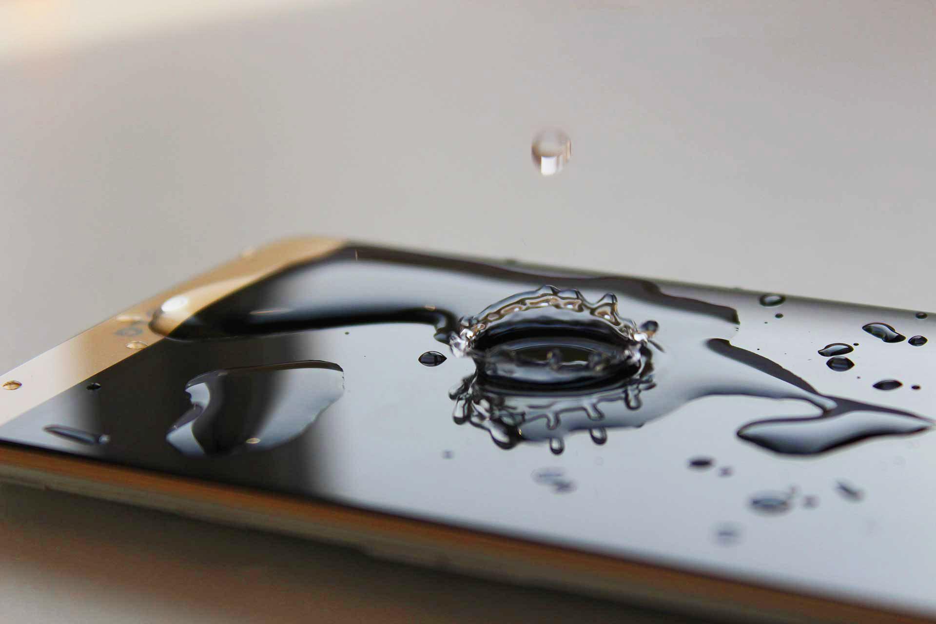 Cellulaire endommagé par l'eau
