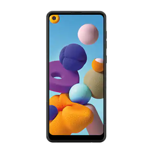 Réparation écran Samsung Galaxy A21S chez Mobile3 Oups